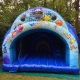 Partylife -Disco Springkasteel Glijden en spelen, dansen en muziek