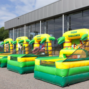 partylife-tiger-challenge-Kinderspellen Jungle, balspelen met lucht-springkasteel-fun