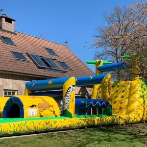 Stormbaan Safari - Partylife springkasteel verhuur